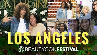 Meeting ZENDAYA and YOUTUBERS at BEAUTYCON LA