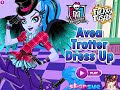 Monster High Games- Avea Trotter Dress Up- Fun Online Dress Up Fashion Games for Girls Kids Teens