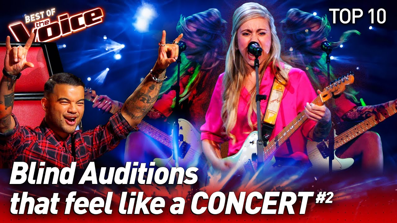Turning the Blind Auditions into a CONCERT on The Voice #2 | Top 10