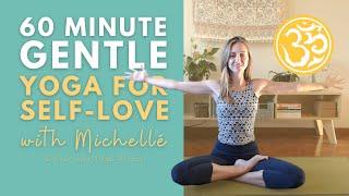 Gentle Yoga for Self-Love (60 min)   Hatha Yoga Class   Ayurveda Yoga with Michellé