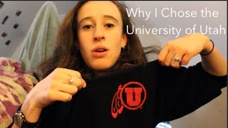Why I Chose the University of Utah | tss6295