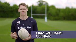 Cwestiynau Cyflym Liam Williams | CIC | Stwnsh