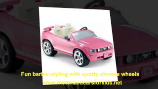 Power Wheels Barie - FUN! Ride On Toys. Power Wheels Barbie Ford Mustang