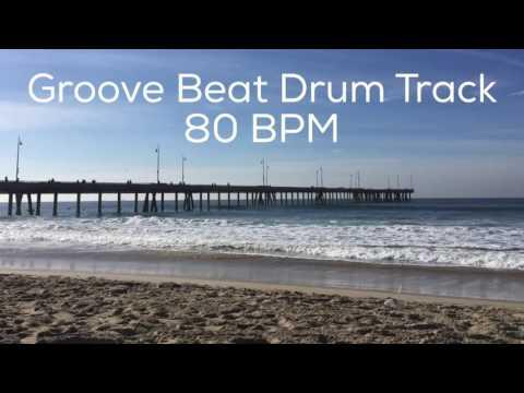 Groove Beat Drum Track 80 BPM