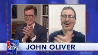 John Oliver: How I'm Hosting 'Last Week Tonight' In Isolation