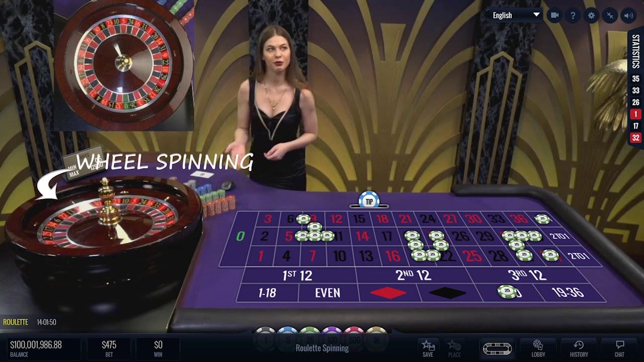 Live Roulette Lucky Streak Live Casino Bonus Youtube