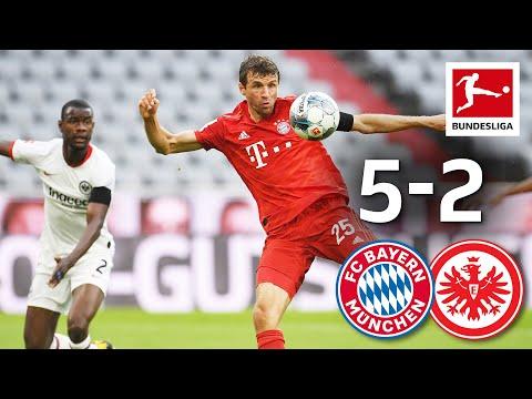 FC Bayern München vs. Eintracht Frankfurt I 5-2 I Müller, Lewandowski & Co. Score in Goal-Fest