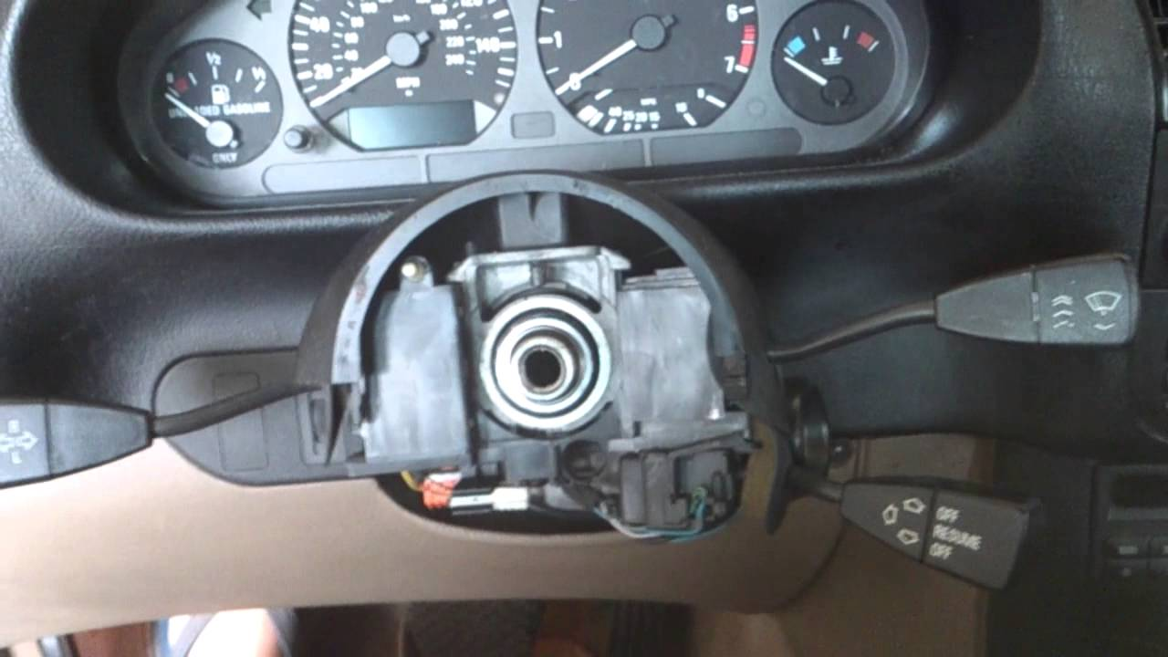 Bmw E36 Steering Wheel Squeak And Grinding Fix Clock