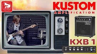 KUSTOM KXB1 дешевый басовый комбик для дома(KUSTOM KXB1 https://goo.gl/kyHkWU – один из самых лёгких, компактных и недорогих басовых комбоусилителей. Оснащён шестидю..., 2016-01-08T07:11:37.000Z)
