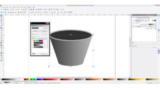Draw a coffee cup in Inkscape - tutorial(http://www.spriteland.com/ https://www.facebook.com/SpriteLander https://twitter.com/SpriteLander Learn how to create a coffee cup using the free vector ..., 2014-09-18T22:07:26.000Z)
