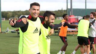 Cristiano Ronaldo Funny Moments in Training