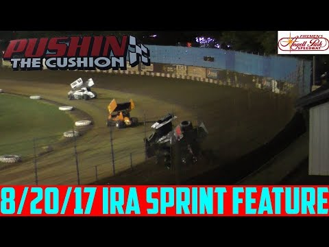 Angell Park Speedway - 8/20/17 - IRA Sprints - Feature