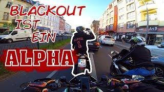 BLACKOUT IST EIN ALPHA  Moto Vlog mit Blackout und Debo
