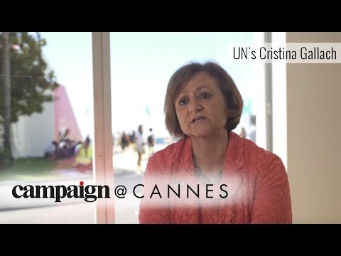 UN's Cristina Gallach: Advertising plays a key role in shaping public opinion