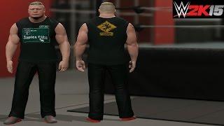 "WWE 2K15 Brock Lesnar ""Suplex City 2015"" Shirt/Attire Superstar Studios/Community Creations (PS4)"