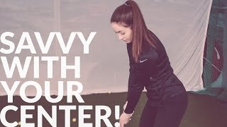 SAVVY WITH YOUR CENTER - Shawn Clement - Wisdom in Golf