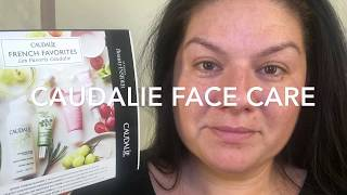TESTING CAUDALIE FACE CARE PRODUCTS REVIEW