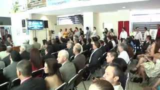 Firma de convenio de colaboración de la UACH y la JMAS Chihuahua
