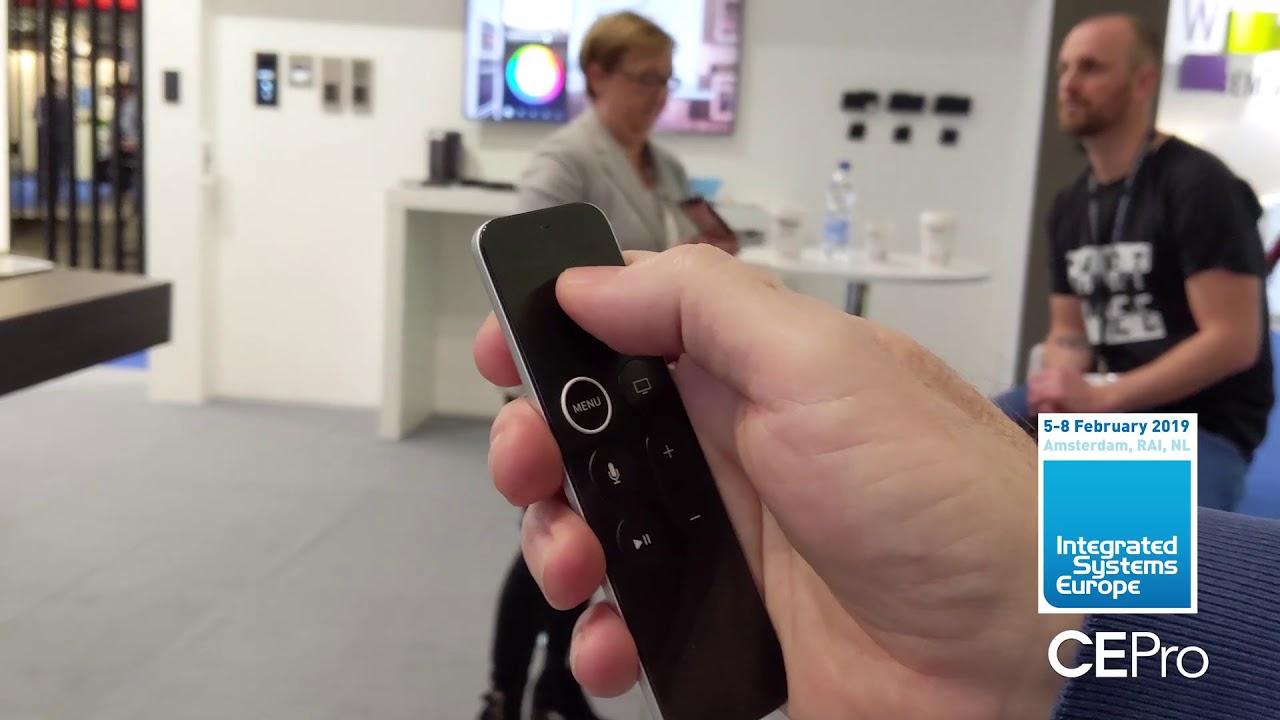 Savant Shows Home Automation OSD through Apple TV - CE Pro