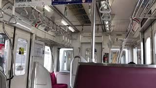 【日立IGBT】相鉄8000系8708F,8712F(機器更新車)走行音 / Sotetsu 8000 sound
