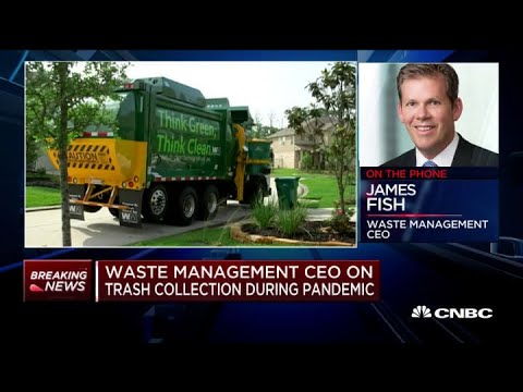 Waste Management CEO on trash collection during the coronavirus pandemic