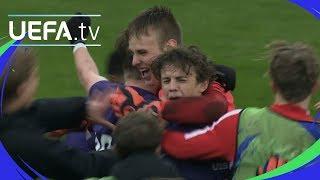 #UYL play-off highlights: Midtjylland 1-1 Roma (4-2 pens)