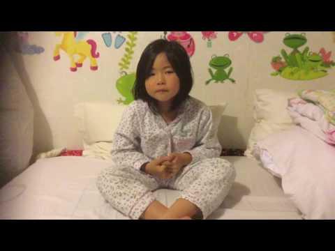 karate girl show you ways of meditate
