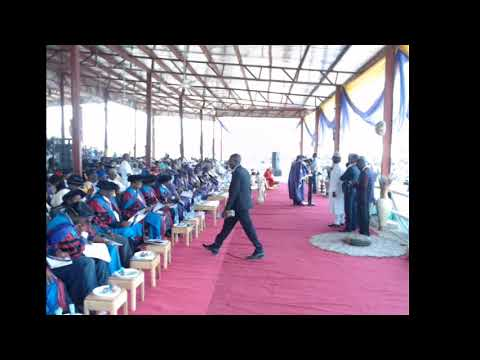 The 27th Convocation Ceremony of the Federal University of Technology, Minna, Niger State, Nigeria