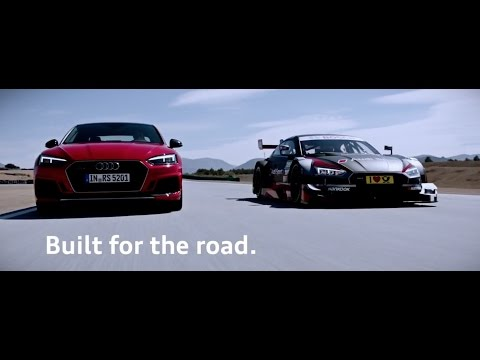 2018 Audi RS5 vs RS5 DTM on track - Hard Song