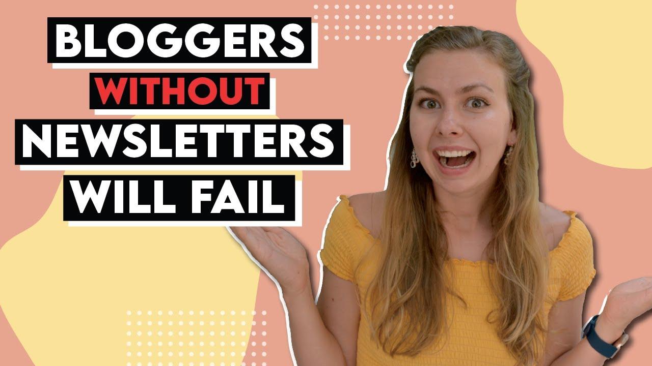 Newsletters will MAKE or BREAK your blog | Best Email Newsletter Platforms