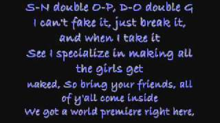 Drop It Like Its Hot - Snoop Dogg (Lyrics)+Request+