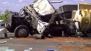 Accident pics News West 9 Midland Odessa TX Oil & Gas