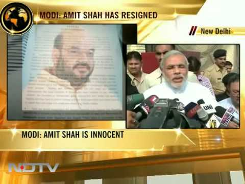Allegations against Amit Shah politically motivated: Narendra Modi