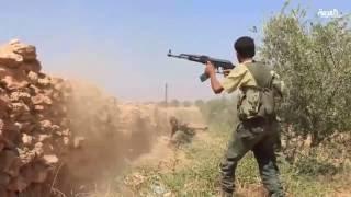 الجيش الحر يستعيد السيطرة على مناطق جديدة في ريف جرابلس بدعم تركي