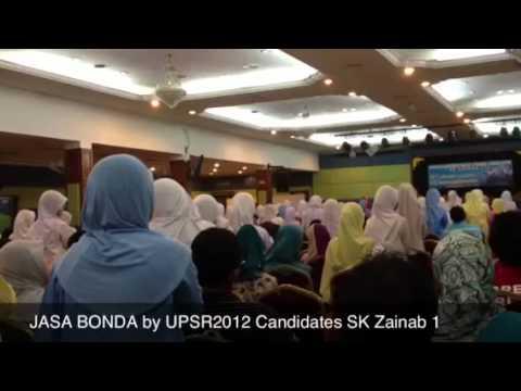 Jasa Bonda by Students of SK Zainab 1