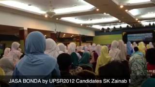 Jasa Bonda by Students of SK Zainab 1