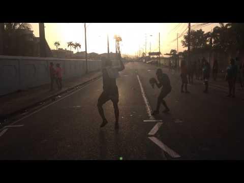 Sun coming up J'ouvert morning - Trinidad Carnival 2016