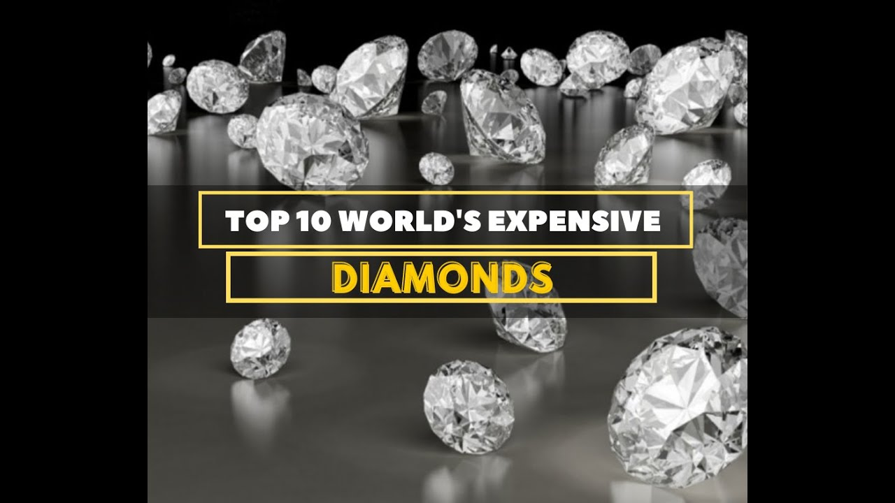 Top 10 Most Expensive Diamonds in the World - YouTube