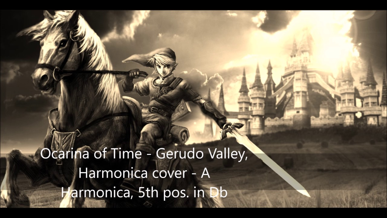what key is gerudo valley in