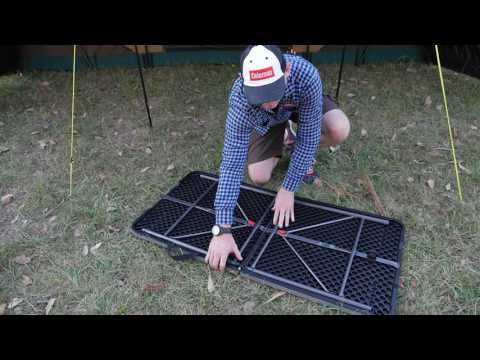 ALPS Mountaineering Portable Dining Table XL YouTube