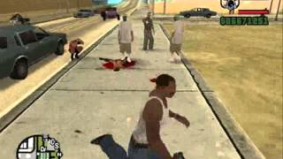 GTA San Andreas CJ : Yeah Bitch Kiss My Ass