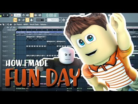 """How I Made Roblox Song """"Fun Day"""" (Behind The Scenes)"""