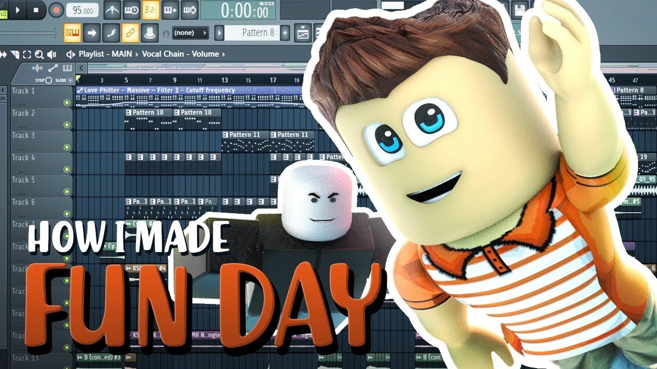 Roblox Song Fun Day Roblox Lyrics Youtube How I Made Roblox Song Fun Day Behind The Scenes Youtube