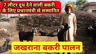 Jakhrana goat Farming in India | जखराना बकरी पालन | 81 वर्ष के बकरी पालक प्रधानमंत्री से सम्मानित|