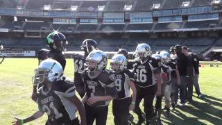CV RAIDERS @ OAKLAND COLISEUM - POSTGAME WITH DEER VALLEY
