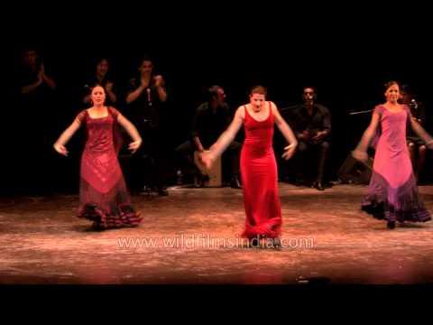Grupo Español realiza el Baile Flamenco en ICCR