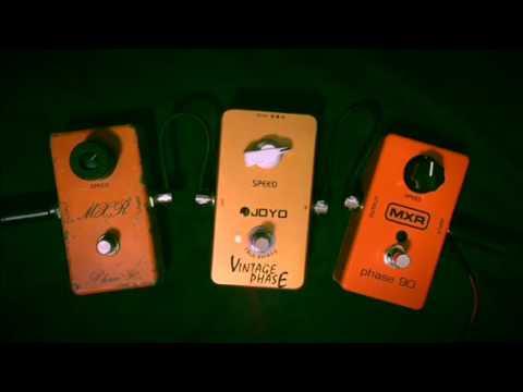 MXR Phase90 M101 vs JOYO Vintage Phase vs 1974's BUD BOX 【魔法の箱研究所】
