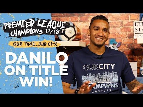 I WAS WATCHING CARTOONS!  Danilo   Premier League Champions 1718