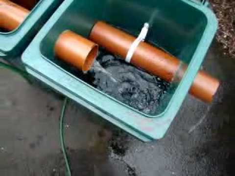 Diy koi filter youtube for Homemade koi pond filter