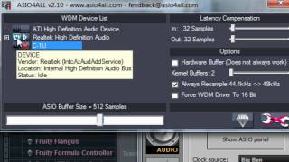 fl studio set up use a usb microphone easy 720p
